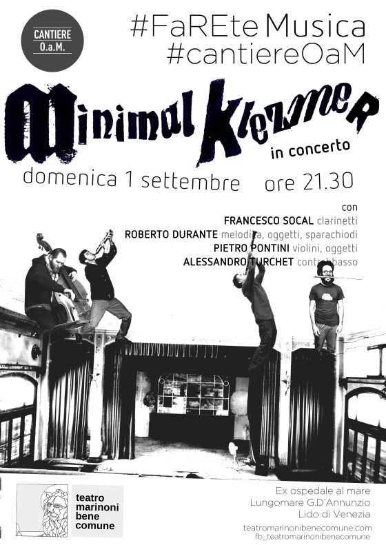 poster Minimal Klezmer